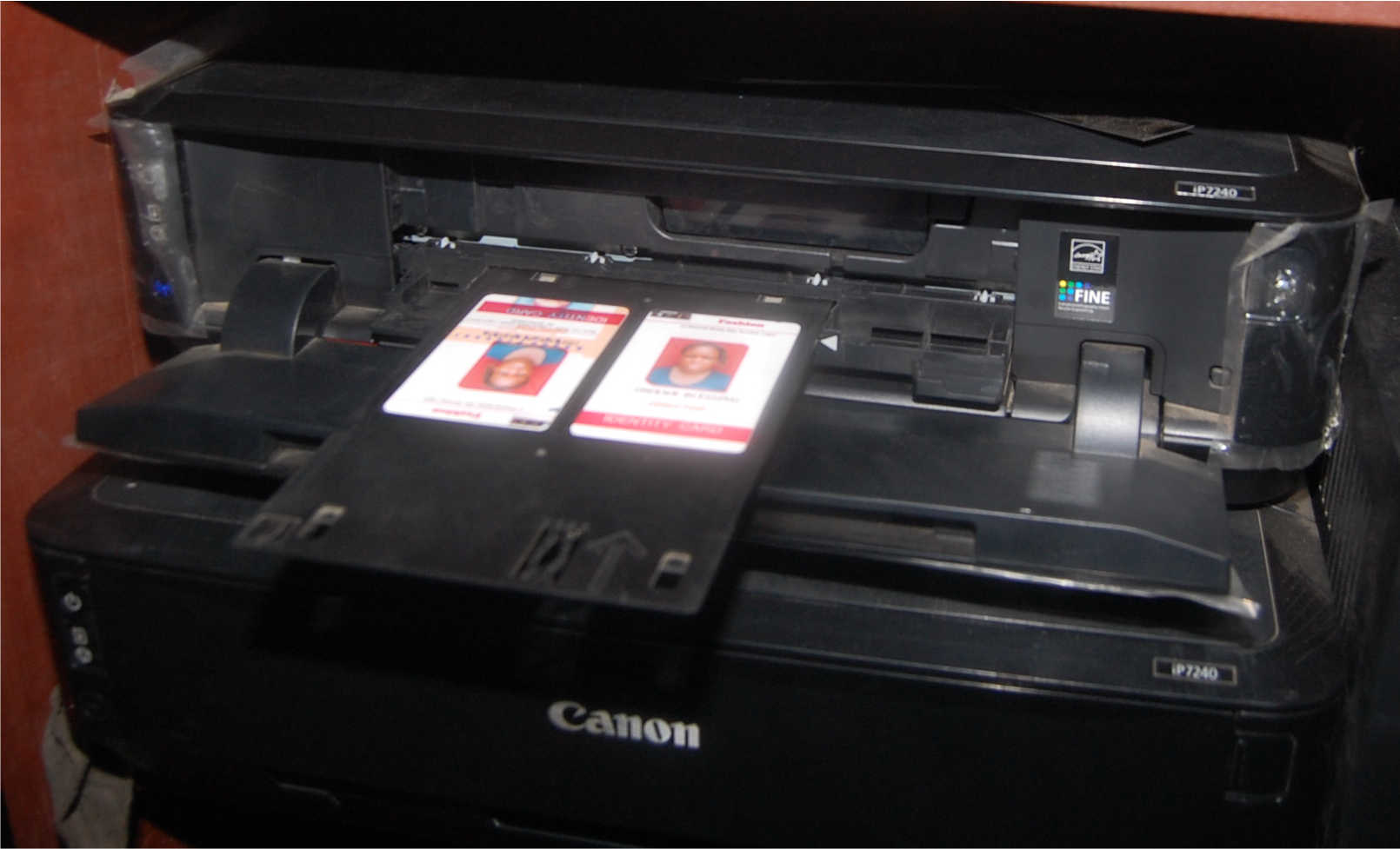 How to print plastic id card with canon ip7240 hope archibong maxwellsz